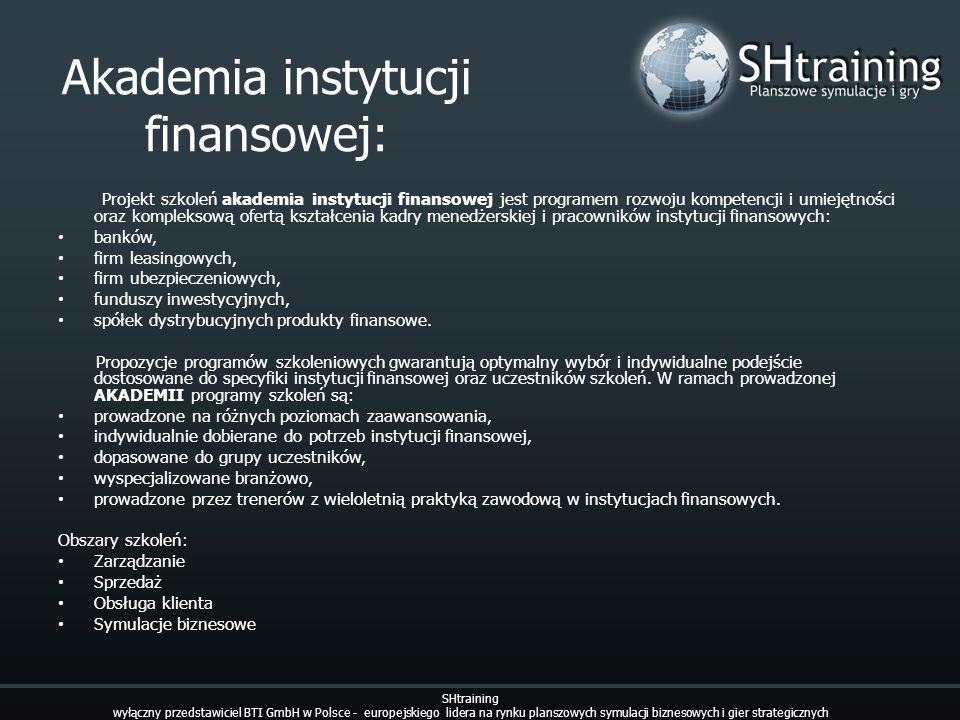 Akademia instytucji finansowej: