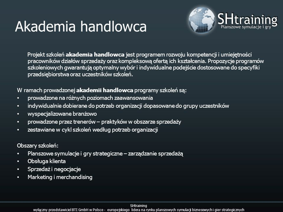 Akademia handlowca