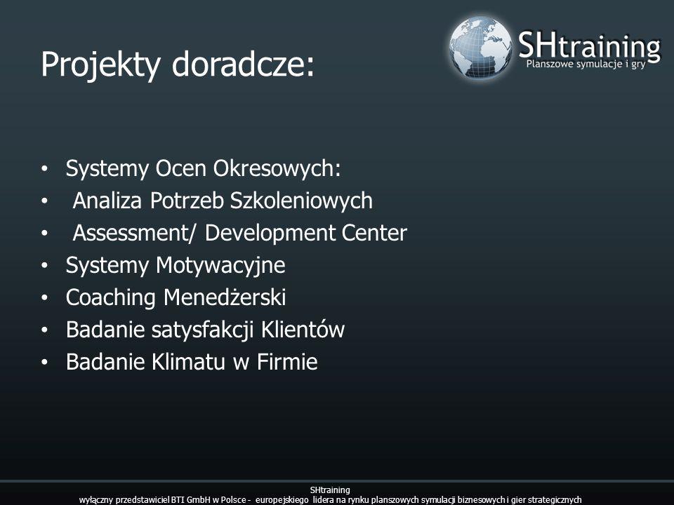 Projekty doradcze: Systemy Ocen Okresowych: