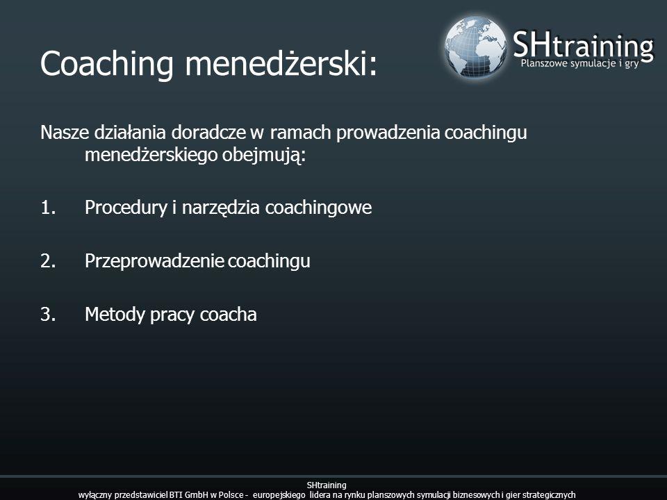 Coaching menedżerski: