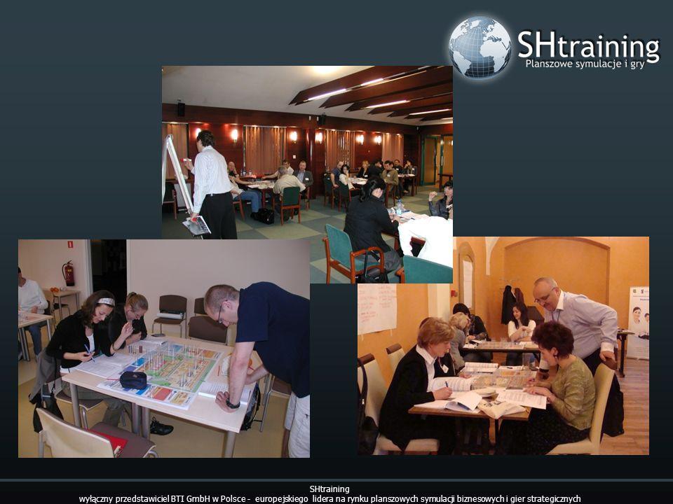 SHtraining wyłączny przedstawiciel BTI GmbH w Polsce - europejskiego lidera na rynku planszowych symulacji biznesowych i gier strategicznych.