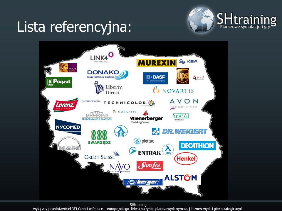 Lista referencyjna: SHtraining