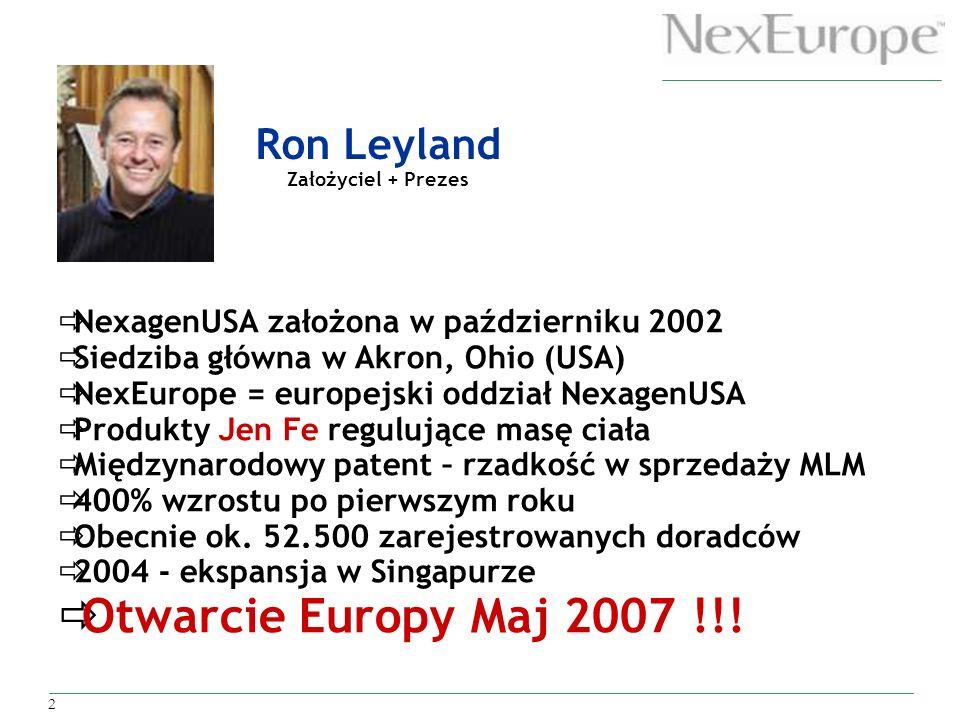 Ron Leyland Założyciel + Prezes