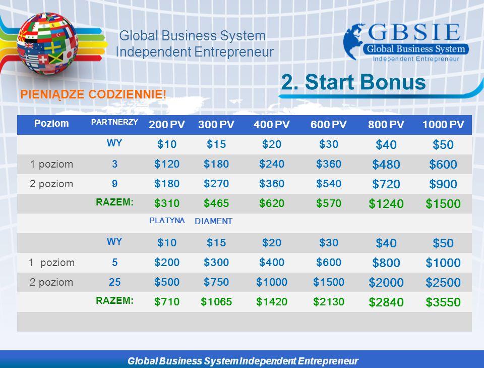 Global Business System Independent Entrepreneur