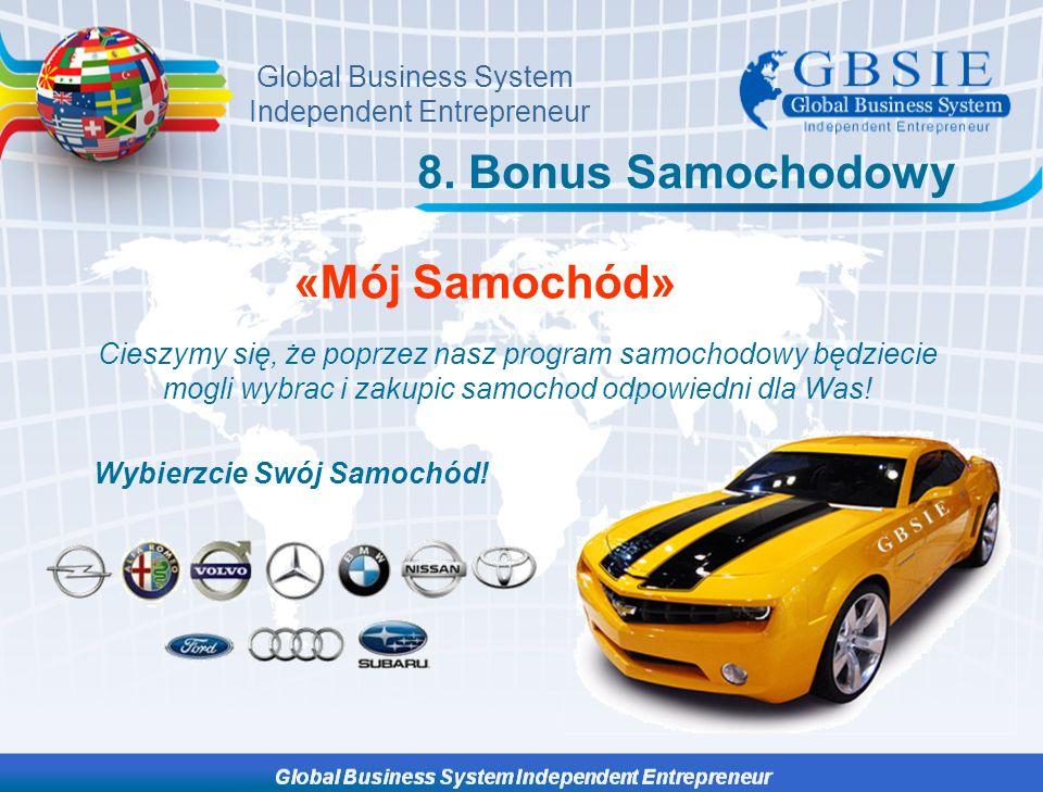 8. Bonus Samochodowy «Mój Samochód»