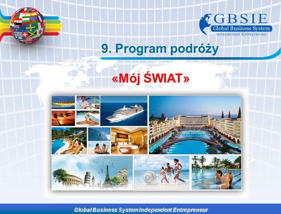 9. Program podróży «Мój ŚWIAT»