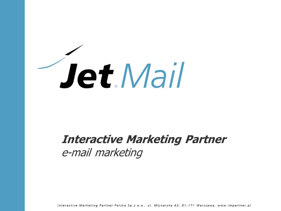 Interactive Marketing Partner e-mail marketing