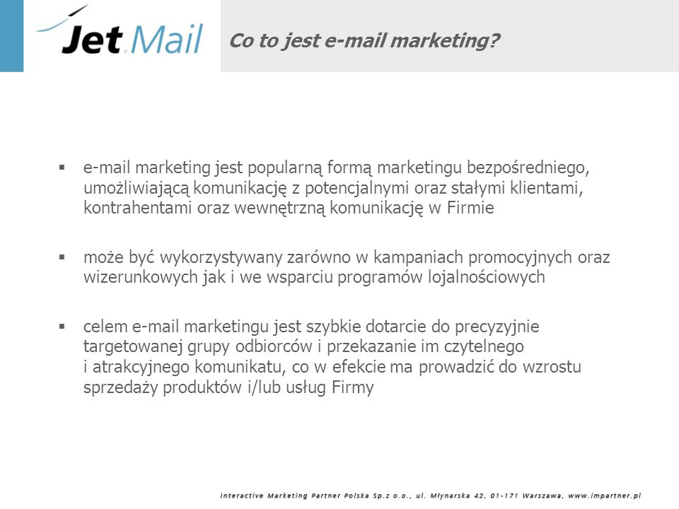 Co to jest e-mail marketing