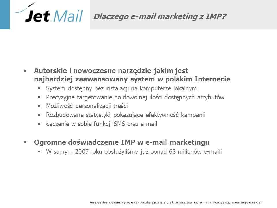 Dlaczego e-mail marketing z IMP