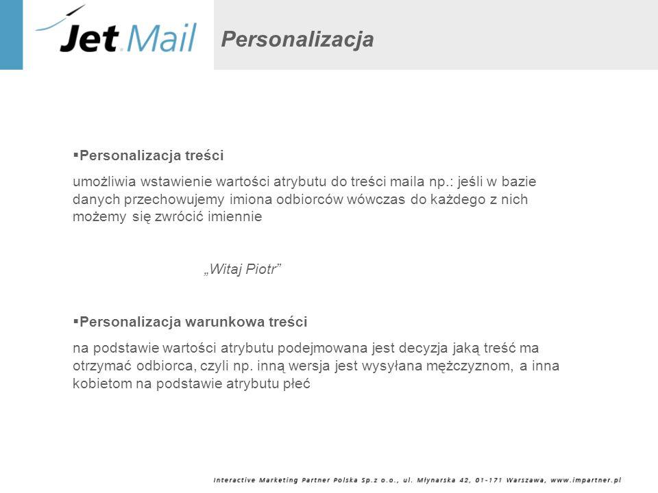 Personalizacja Personalizacja treści