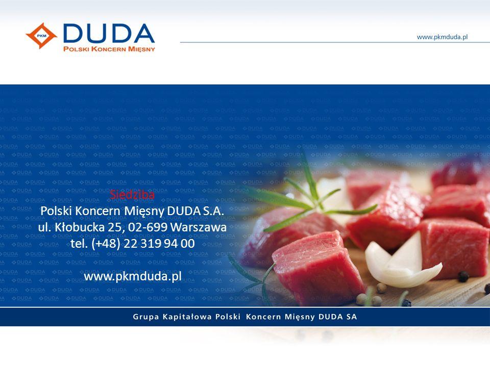 Siedziba Polski Koncern Mięsny DUDA S. A. ul