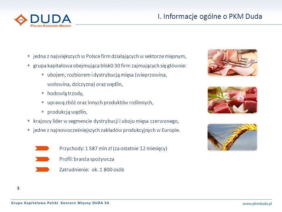 I. Informacje ogólne o PKM Duda