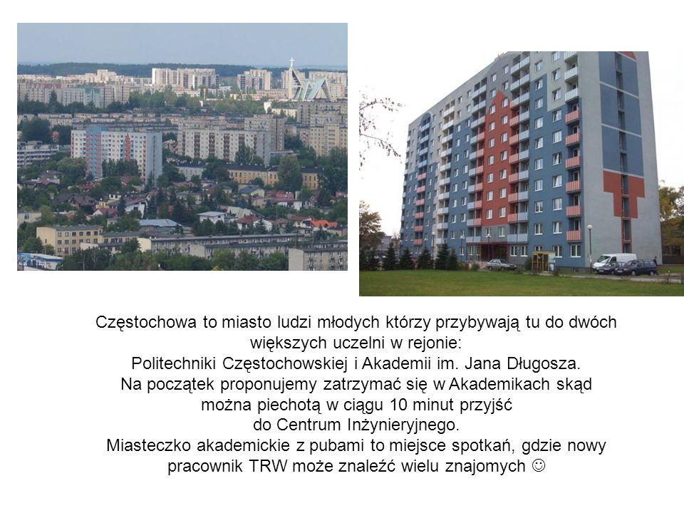 Politechniki Częstochowskiej i Akademii im. Jana Długosza.