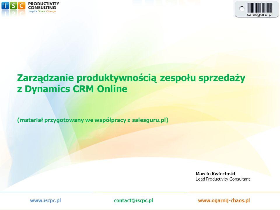 www.iscpc.pl contact@iscpc.pl www.ogarnij-chaos.pl
