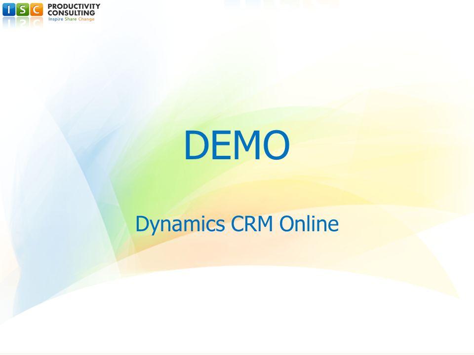 DEMO Dynamics CRM Online