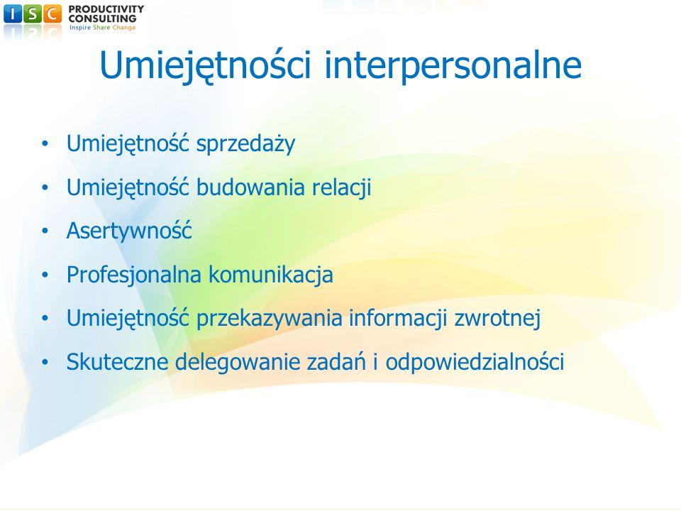Umiejętności interpersonalne
