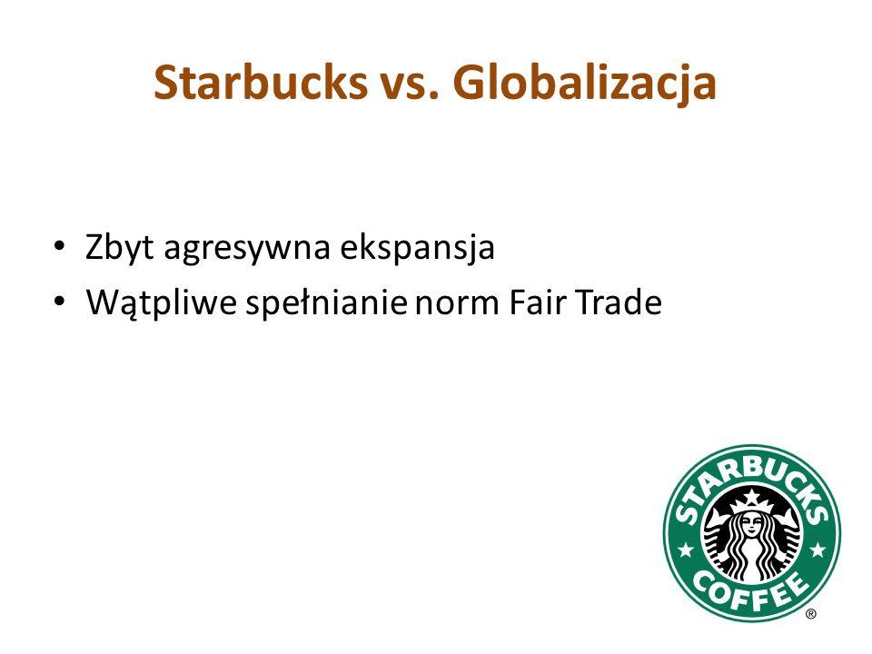 Starbucks vs. Globalizacja