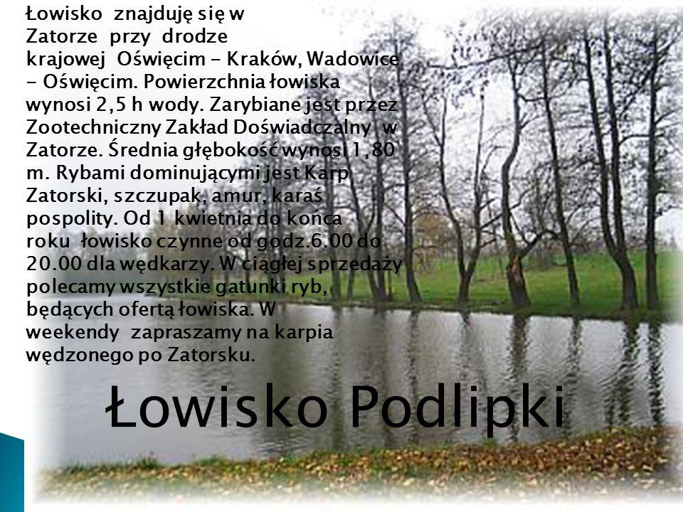 Łowisko Podlipki Łowisko Podlipki