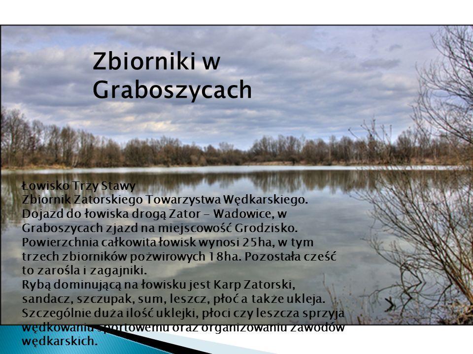 Zbiorniki w Graboszycach