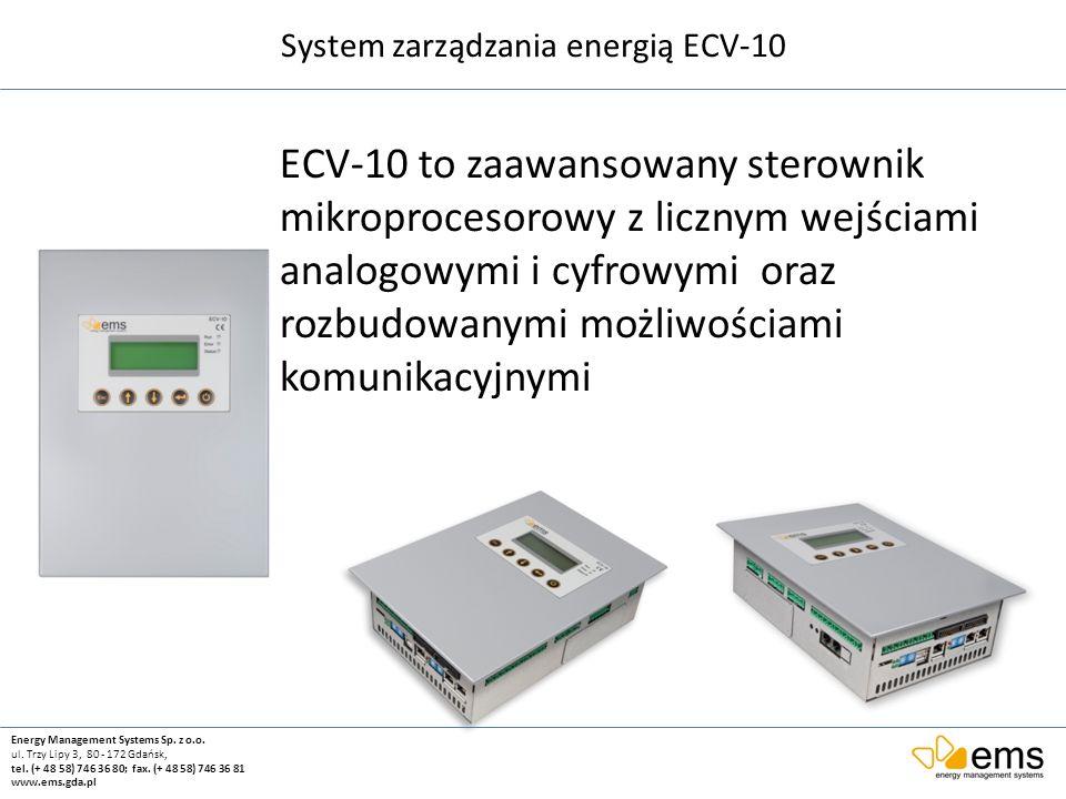 System zarządzania energią ECV-10
