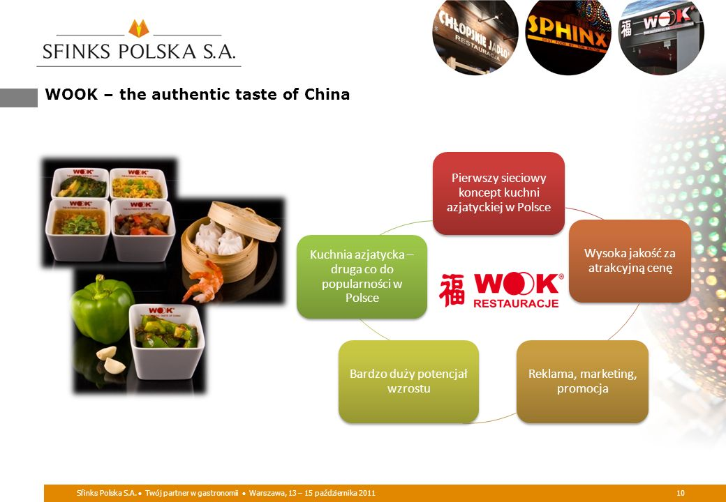 WOOK – the authentic taste of China
