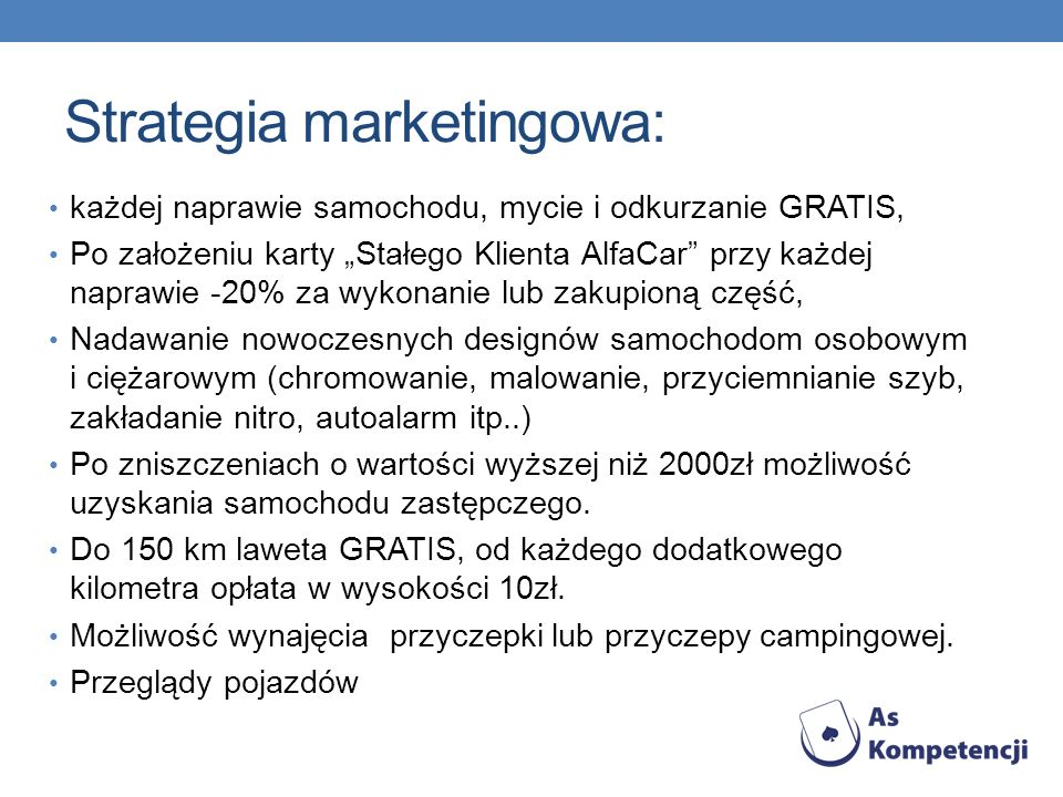 Strategia marketingowa: