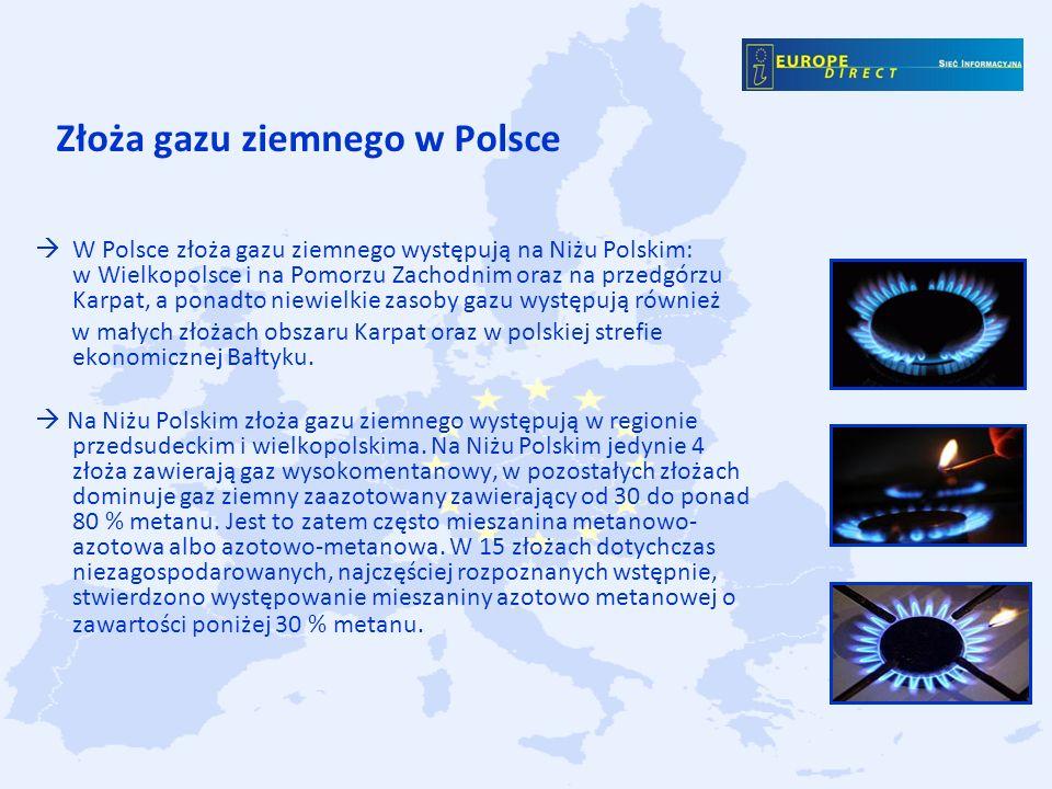 Złoża gazu ziemnego w Polsce
