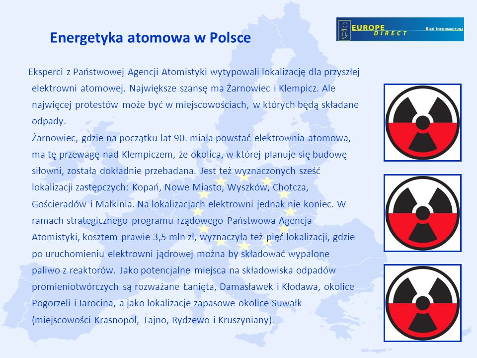 Energetyka atomowa w Polsce