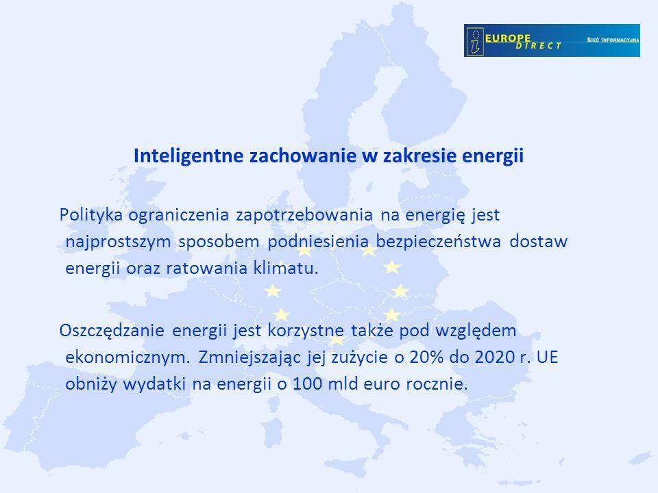 Inteligentne zachowanie w zakresie energii