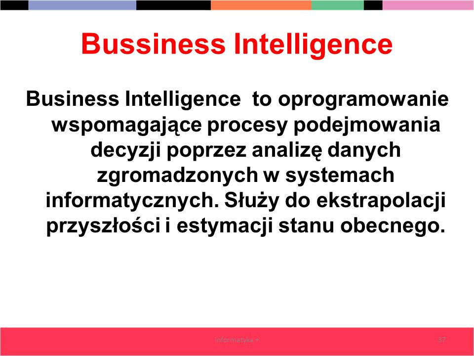 Bussiness Intelligence
