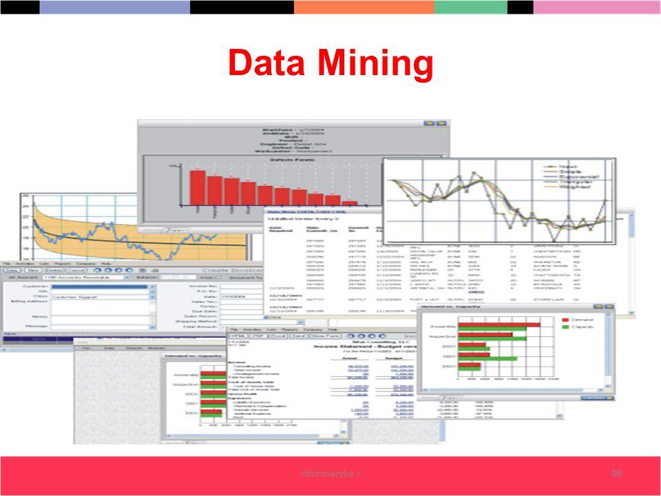 Data Mining informatyka +