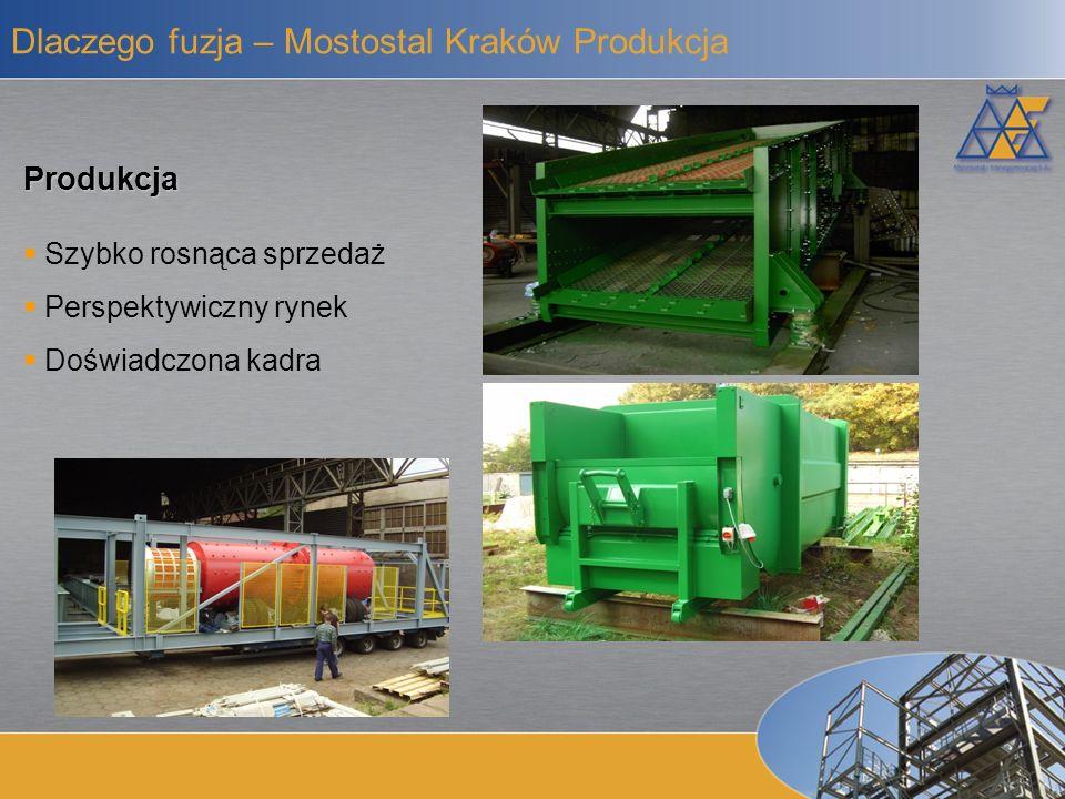 Dlaczego fuzja – Mostostal Kraków Produkcja