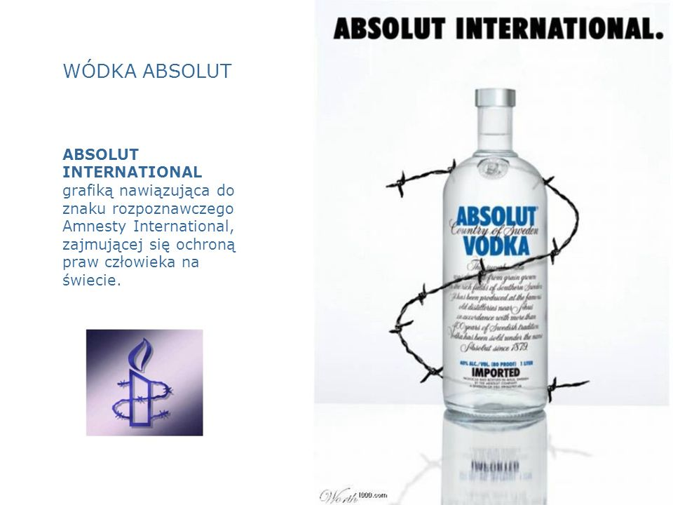 WÓDKA ABSOLUT