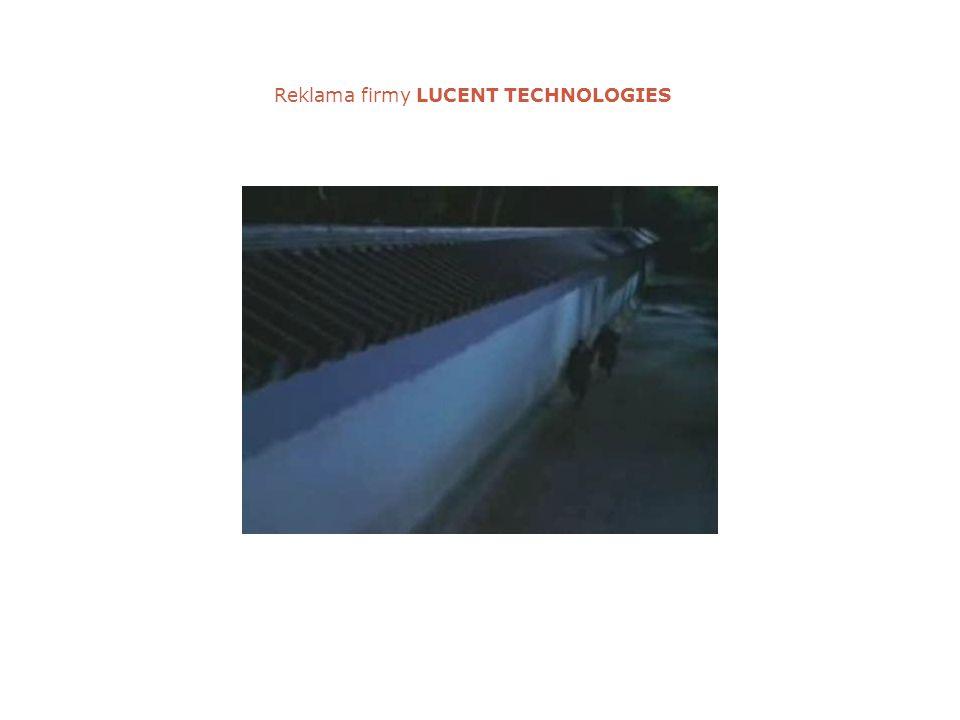 Reklama firmy LUCENT TECHNOLOGIES