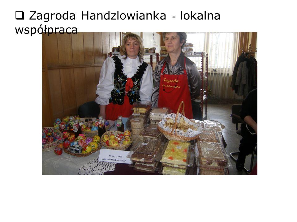 Zagroda Handzlowianka - lokalna współpraca