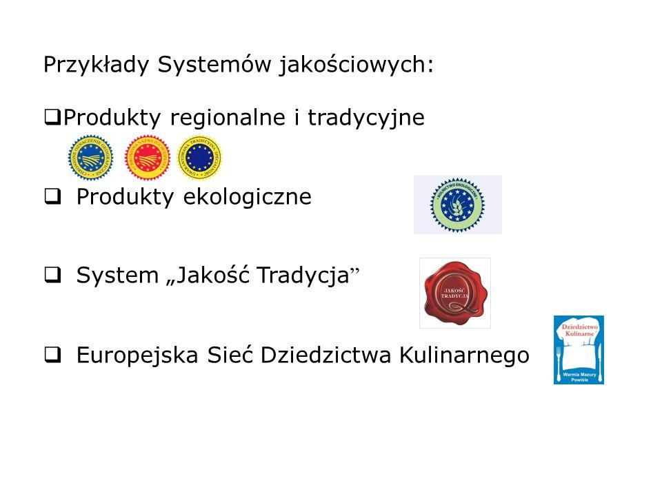 Przykłady Systemów jakościowych: