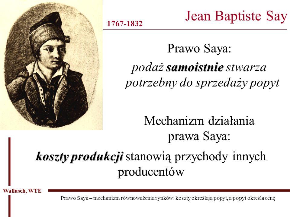Jean Baptiste Say ________________________________________________________________________________
