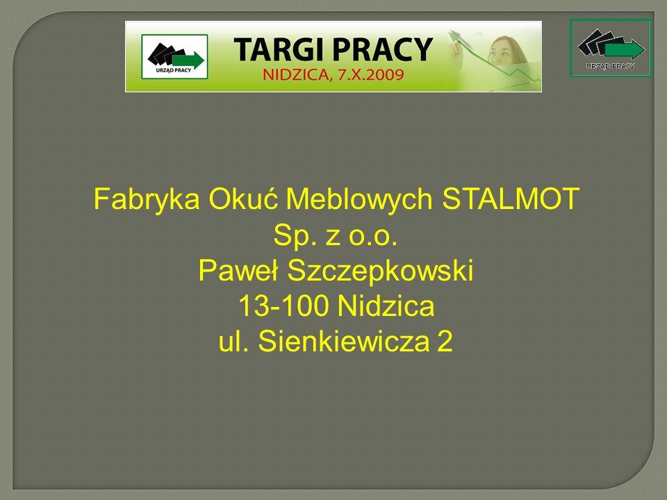Fabryka Okuć Meblowych STALMOT Sp. z o.o.