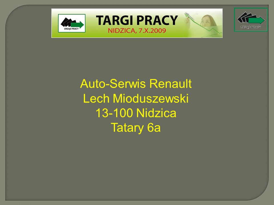 Auto-Serwis Renault Lech Mioduszewski
