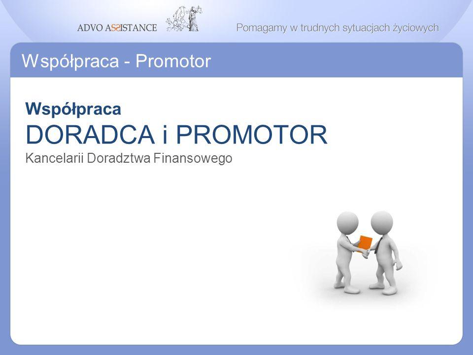 DORADCA i PROMOTOR Współpraca - Promotor Współpraca