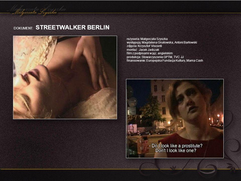 DOKUMENT: STREETWALKER BERLIN