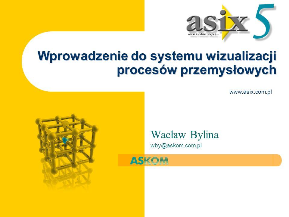 Wprowadzenie do systemu wizualizacji procesów przemysłowych