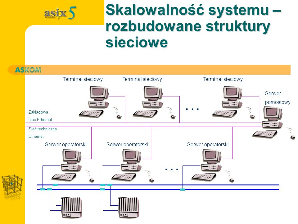 Skalowalność systemu – rozbudowane struktury sieciowe