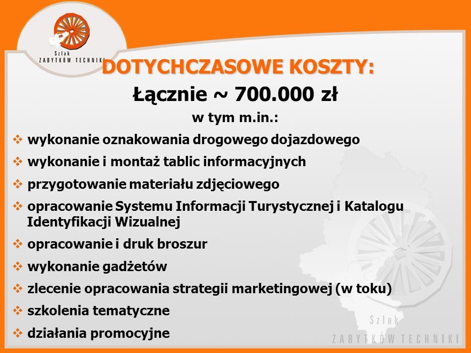 DOTYCHCZASOWE KOSZTY: