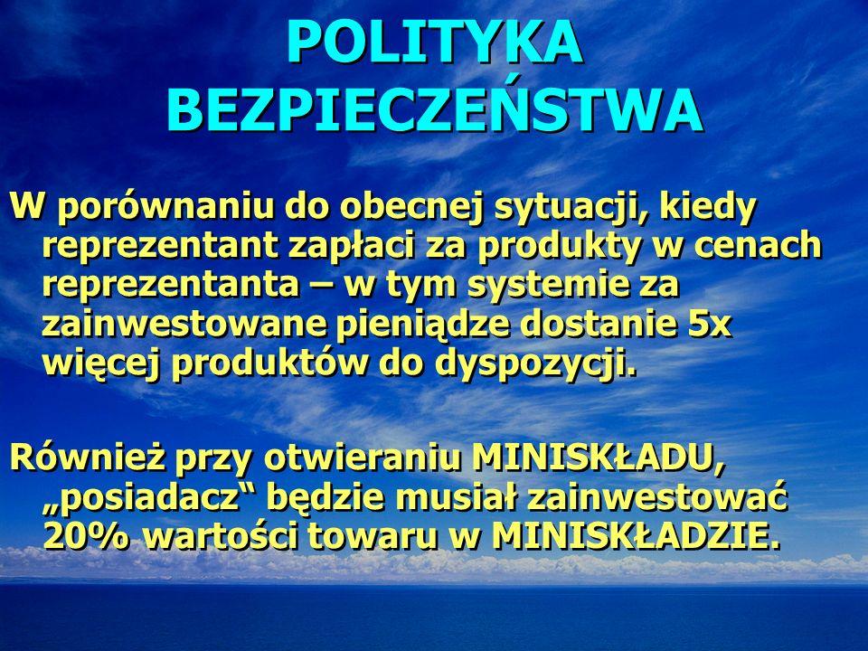 POLITYKA BEZPIECZEŃSTWA