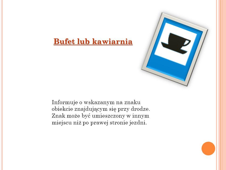 Bufet lub kawiarnia