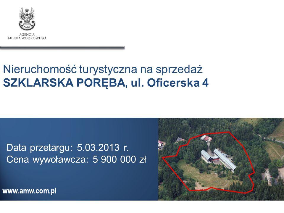 Nieruchomość turystyczna na sprzedaż SZKLARSKA PORĘBA, ul. Oficerska 4