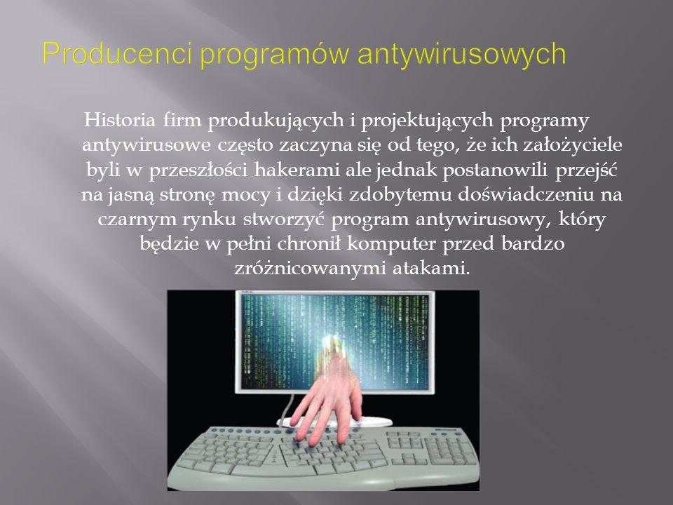 Producenci programów antywirusowych