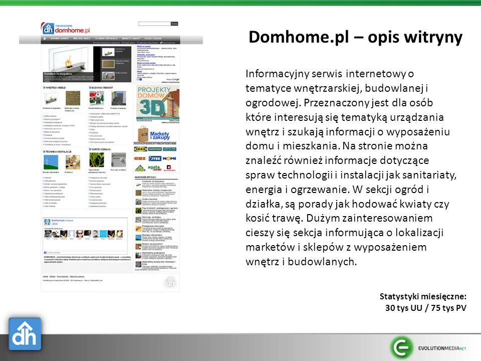 Domhome.pl – opis witryny