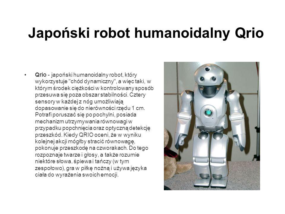 Japoński robot humanoidalny Qrio